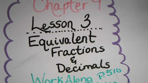 Thumbnail for entry 9.3 Work Along Problem Solving.mp4