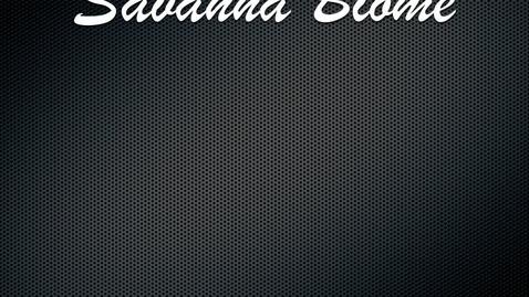 Thumbnail for entry Savanna Biome