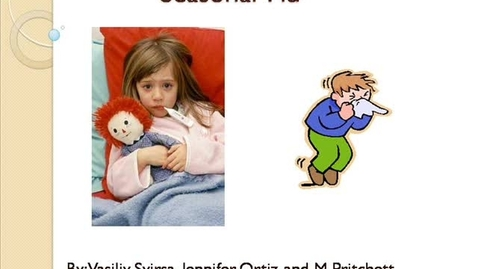 Thumbnail for entry Symptoms of Seasonal Flu