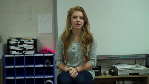 Thumbnail for entry Spring 2012 – Telling a Story -- Shannon Gleespen -- Mr. Gilbert's class
