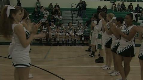 Thumbnail for entry GHCHS Girls Basketball vs San Fernando HS 2-16-12