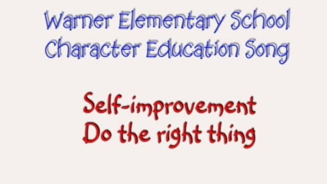 Thumbnail for entry Character Education that works – Learn to love yourself