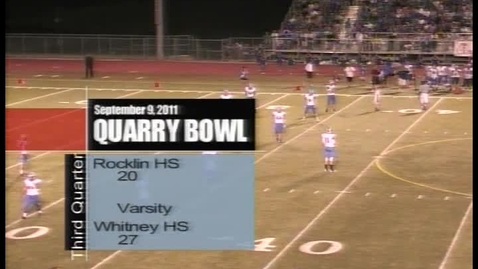 Thumbnail for entry Quarry Bowl II