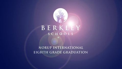 Thumbnail for entry 2013 Norup 8th Grade Graduation