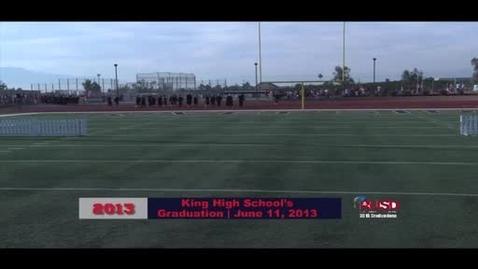 Thumbnail for entry King High School 2013 Graduation
