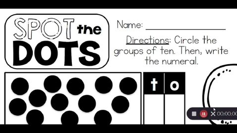 Thumbnail for entry Spot the Dots Math May 7