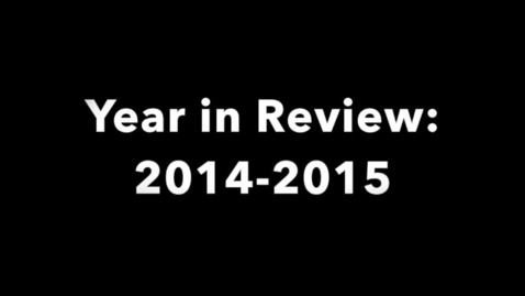 Thumbnail for entry Senior's Year in Review