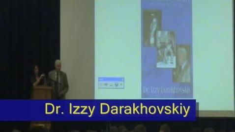 Thumbnail for entry Dr. Izzy Darakhovskiy