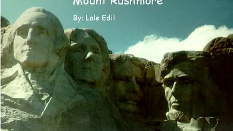 Thumbnail for entry Mount Rushmore
