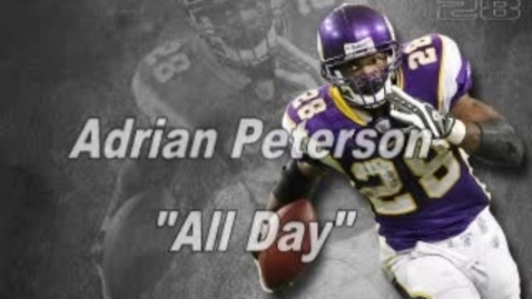Thumbnail for entry Nic Peterson - Adrian Peterson