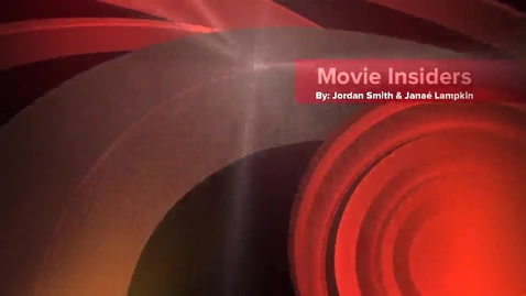 Thumbnail for entry Movie Insiders