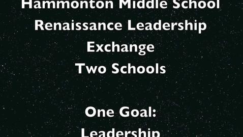 Thumbnail for entry Renaissance Leadership Exchange