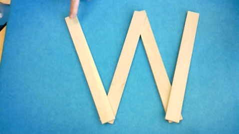 Thumbnail for entry Handwriting: Letter W, Number 6