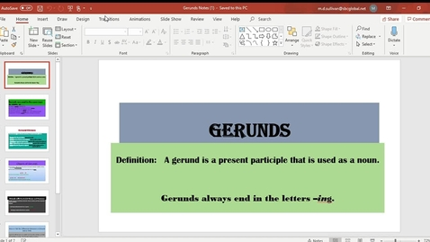 Thumbnail for entry Gerunds Notes (1) - PowerPoint 2020-04-13 11-43-01.mp4