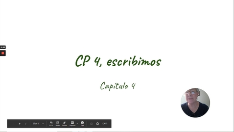Thumbnail for entry CP 4 ESCRIBIMOS 1