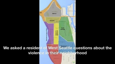 Thumbnail for entry Violence in West Seattle
