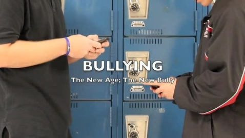 Thumbnail for entry The New Age; The New Bully