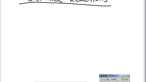 Thumbnail for entry Stephens Chemistry: Chemical reactions - balancing