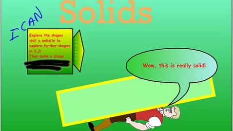 Thumbnail for entry Math 10.4 Geometric Solids