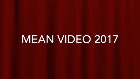 Thumbnail for entry Mean Video 2017