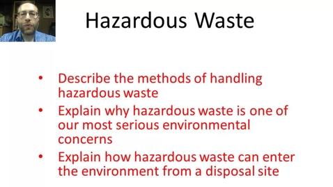 Thumbnail for entry Hazardous Waste