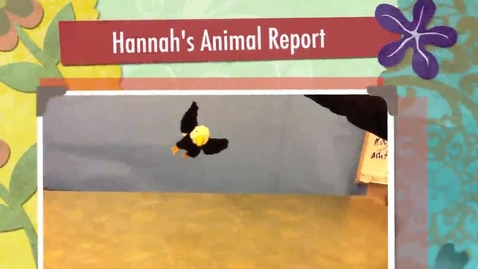 Thumbnail for entry Hannah's Animal Report