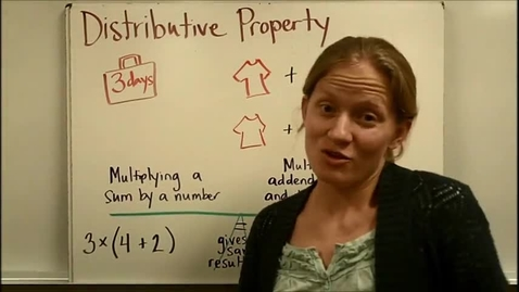 Thumbnail for entry Distributive Property