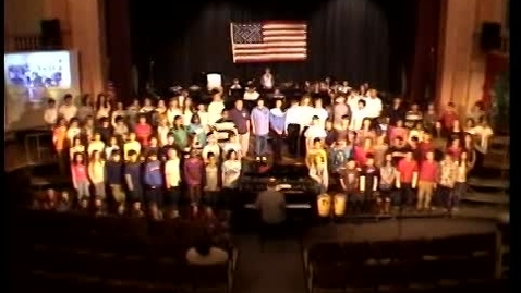 Thumbnail for entry Songs for Troops 2009 - 4-6 Chorus - Funiculi, Funicula