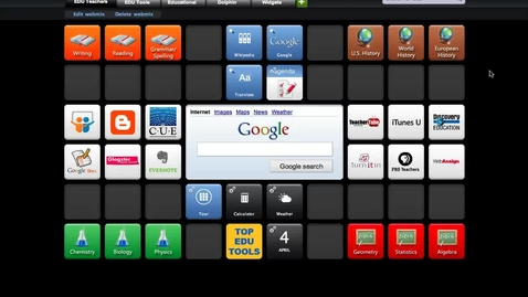 Thumbnail for entry SymbalooEDU Tutorials: How to Search for a Tile