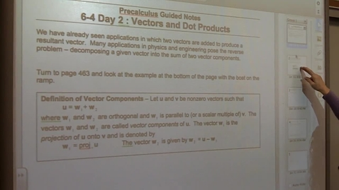 Thumbnail for entry Precalculus Section 6-4 day two Example 3