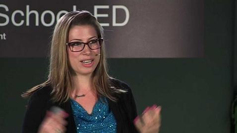 Thumbnail for entry Inquiry in kindergarten: Amanda Baldwin at TEDxRockyViewSchoolsED