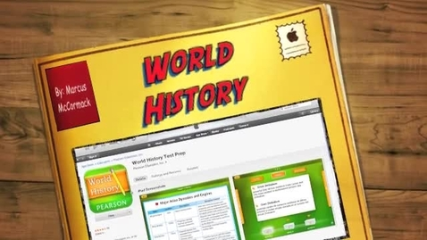 Thumbnail for entry app review and website review on world history test prep