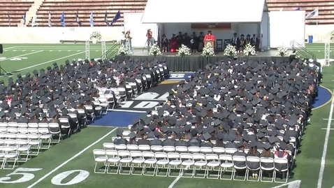 Thumbnail for entry Segerstrom Fundamental H.S. Commencement 2013 (Part 2)