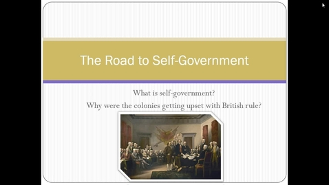 Thumbnail for entry The Road to Self-Government.webm