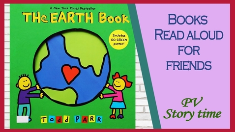 Thumbnail for entry THE EARTH BOOK by Todd Parr