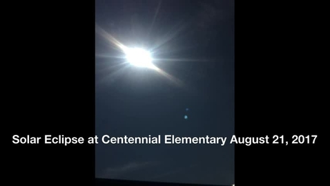 Thumbnail for entry CES Eagles watching the Solar Eclipse