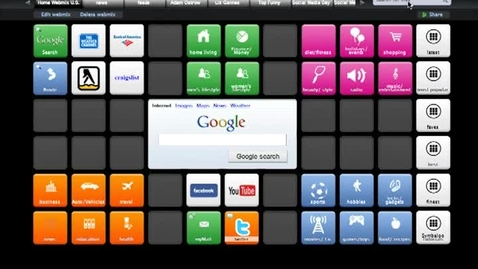 Thumbnail for entry How to embed videos, presentations and various web 2.0 tools inside of Symbaloo.