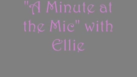 Thumbnail for entry Minute at the Mic