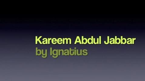 Thumbnail for entry Biography Report - Kareem Abdul Jabbar