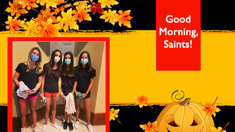 Thumbnail for entry Saints @ 8 - October 1, 2020