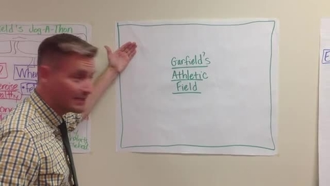 Thumbnail for entry Garfield Elementary Jogathon Video  Where