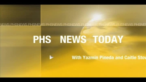 Thumbnail for entry PHS News 1-20-12