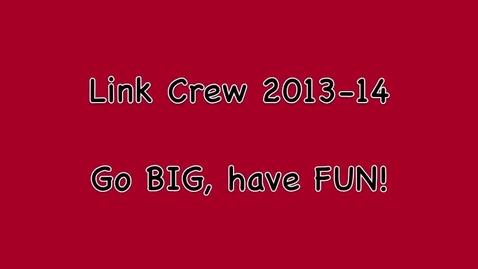 Thumbnail for entry SPHS Link Crew Promo 2013