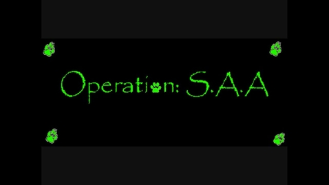Thumbnail for entry Operation SAA