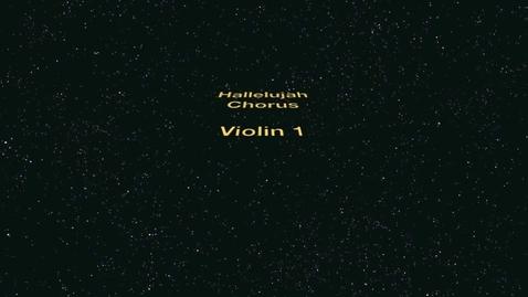 Thumbnail for entry Violin 1 - Hallelujah Chorus