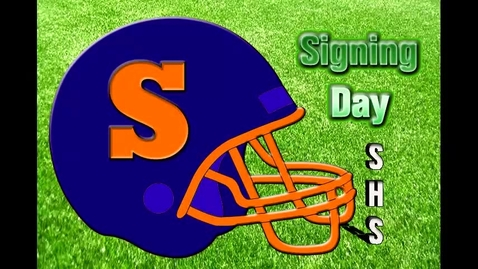 Thumbnail for entry SHS 2014 Signing Day Celebration