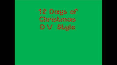 Thumbnail for entry 12 Days of Christmas Delta Vista Style