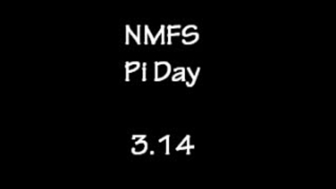 Thumbnail for entry Pi Day at North Fork Middle School