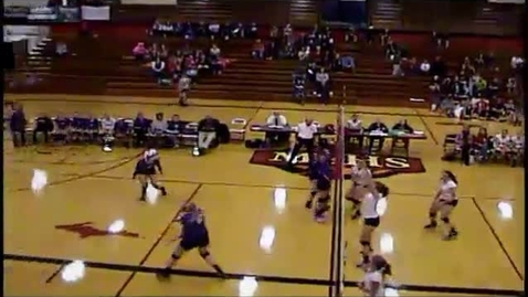 Thumbnail for entry MSHS volleyball vs. Gladstone