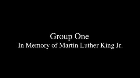 Thumbnail for entry MLK 1
